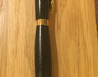 Handmade Ebony Ballpoint Pen