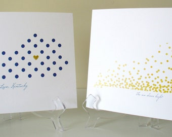 Kentucky Dots 8x10 print