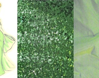 Custom Made Disney's Tinkerbell Fishtail Gown