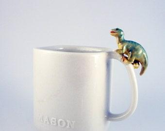 T-REX mason jar mug