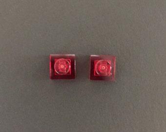 LEGO Plate Stud Earrings