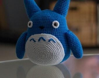 stuffed Totoro amigurumi