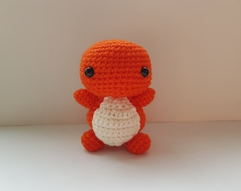 Charmander Amigurumi/crochet | Pokemon inspired | Charmander plush | gifts for her | gifts for him | [Made to order]