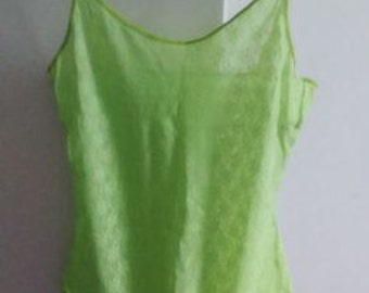 Body lace green T38/2/M - new