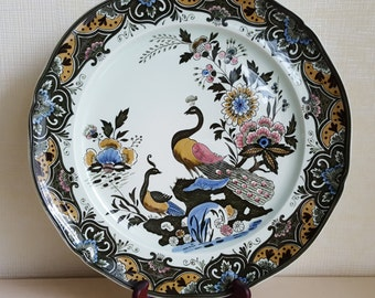 Villeroy & Boch porcelain plate plate pheasant, Paon D = 33 cm