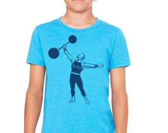 The Strongman: Kid's T-Shirt