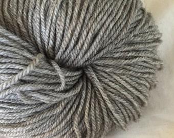 SOCK SW Merino Yak Nylon 70/20/10 Undyed Yarn, Natural Grey Undyed Sock Yarn,Fingering Weight Natural Merino Yak Nylon Yarn Base Luxury Yarn