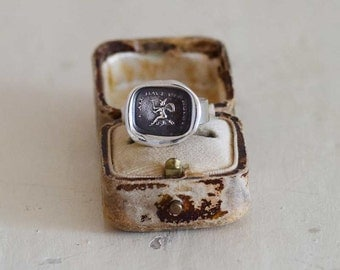 Witch Wax Seal Ring - We all have our hobbies 129