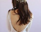 bridal headpiece - Juliet starry crown - Style 656 - Made to Order