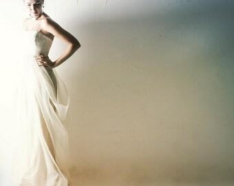 Wedding dress, Boho wedding dress, Winter wedding dress, Hippie wedding dress, Bohemian wedding dress, Alternative wedding dress, Modern