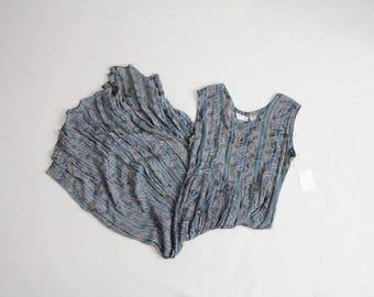 autumn blue dress   90s sheer gauze dress   sheer maxi dress