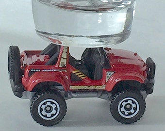 The ORIGINAL Hot Shot, Shot Glass, Cliff Hanger, 4x4, Not a Jeep, Hot Wheel vehicle