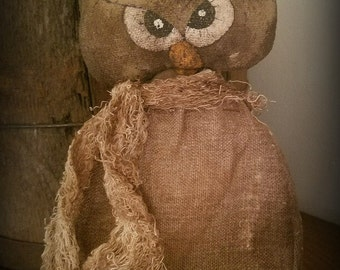 Mrs. Hoot Owl E-Pattern