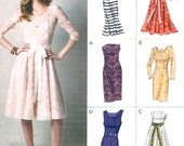 Stunning cocktail dress Bridesmaid Engagement party frock sewing pattern Vogue 8766 UNCUT Size 12 to 20