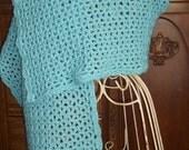 Prayer Wrap for Healing...Comfort...Friendship / Hand Crocheted