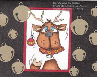 151 Springhead Reindeer Digi Stamp