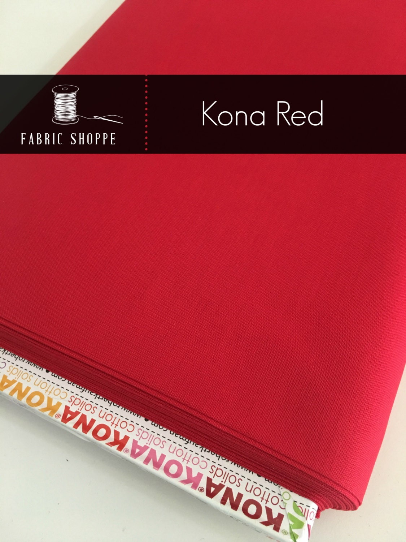 Kona cotton solid quilt fabric, Kona RED 1308, Kona fabric, Solid ... : solid quilting fabric - Adamdwight.com