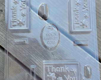 Thank You Soap Mold