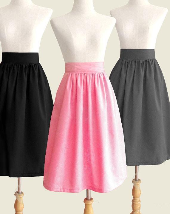 Midi skirt | Etsy