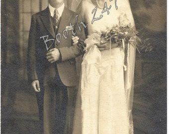 Wedding Day Photograph - Early 1900's