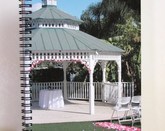 "Wedding, Bride, Bridesmaid Brides Mother 6"" x 8"" Spiral Notebook Photography Fine Art Cover  No. J06"