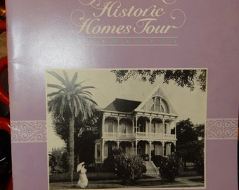 1992 18th Annual Historic Homes Tour Galveston Texas, John S Rhea Cottage, Weber Home, Reymershoffer Home, Galveston Historical Foundation