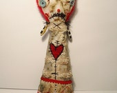Handmade Art Doll ( Millie Mince)