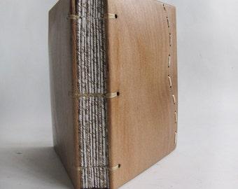 Notebook Blank book Woden journal Nature