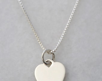 Add a Sterling Silver Heart