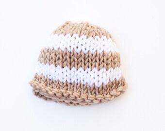 Newborn boy hat, stripe, baby hat, newborn hat, newborn boy hat, take home outfit, coming home outfit, baby boy, knit baby hat, boy baby hat