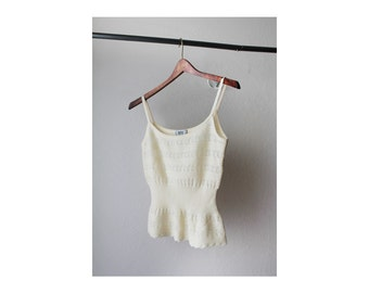 1990's Moschino Cheap&Chic Camisole Knit Top