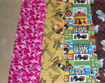 Cotton Barbeque Apron (Duck Dynasty Beige, Duck Dynasty Pink, or Dogs and Cats at Fair)