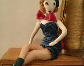 Sale - Jean - Bunny Girl Carnival Girl Doll