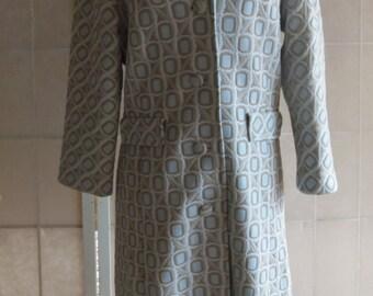 Vintage 1960's Doubleknit Spring Coat