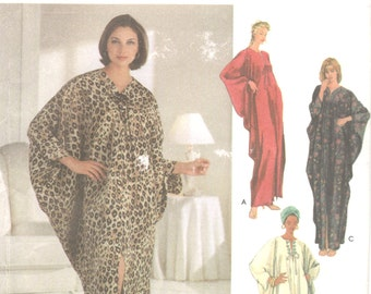 Simplicity 5788  Misses Pullover Caftan Pattern Womens  Sewing Pattern Size Small Medium Large XXLarge Bust  32 - 48 UNCUT