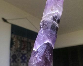 Auralite 23 Purple Shield Crystal Sphere Amethyst
