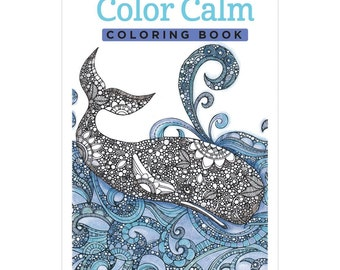 Design Originals Color Calm Portable Coloring Book