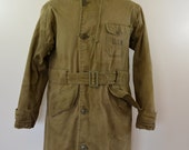 reserved for AROOMMODEL U.S. NAVY Deck Coat WW2 world war two size 40 fur lined