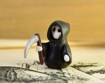Miniature Grim Reaper Figurine
