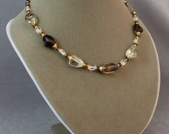 Chunky Quartz Necklace