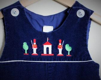 VINTAGE 18m JUMPER / vintage style / vintage childrens clothes / vintage chirstmas outfit / vintage baby boy