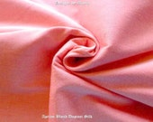 Apricot Blush Peach Dupioni Silk Fabric By The Yard, Evening Gown Material, Curtains Fabric, Salmon Coral Indian Dressmaking Silk Fabric
