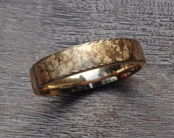 Vintage Hayward Bangle Bracelet Gold Filled