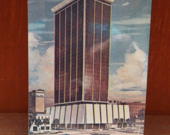 Vintage Tall Building Skyscaper Souvenir Deck of Playing Cards ~Sealed NOS