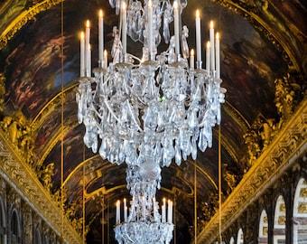 Versailles Photo Hall of Mirrors France Print Architecture Paris Decor Photograph Wall Art Home Decor fra162