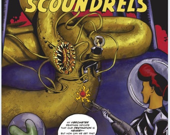 Space Scoundrels - 1957-style Adventure Comic E-book