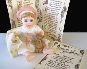 BRIANNA Figurine * Romantic Victorianna * By JAN HAGARA * Limited Edition