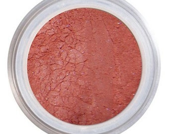 Makeup Blush, Cheek Color, Natural Cosmetics, Loose Mineral Blush, Vegan Cruelty Free, Eco Make Up, Healthy Looking, Sugar Loaf, Rouge