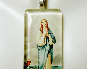 Our Lady of the sea pendant with chain - GP01-807