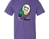 Frankenstein's Monster as The Joker | Tshirt | Horror | Universal Monsters | Halloween | Film | Comic | Joker | DC